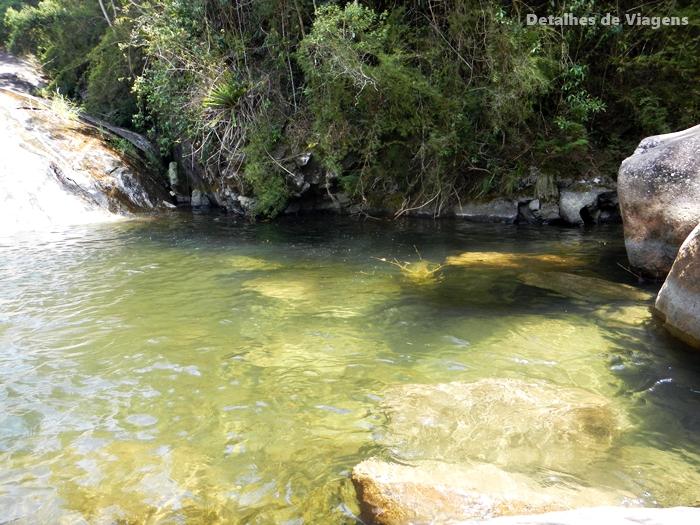 agua cristalina cachoeira do escorrega visconde de maua