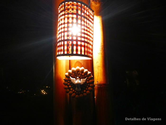 arandela iluminada