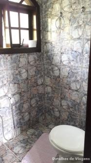 banheiro pousada