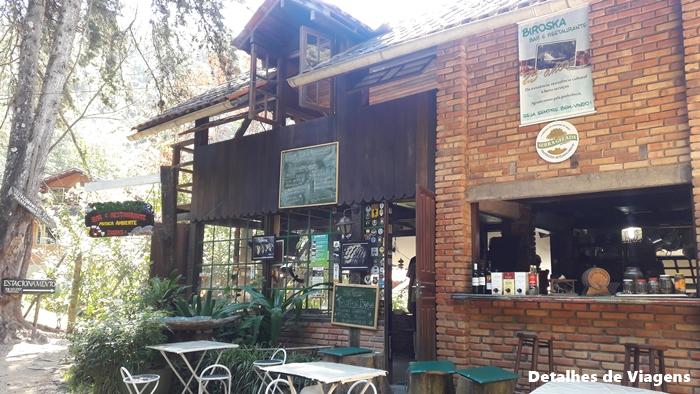 biroska restaurante visconde de maua cachoeira do escorrega maromba