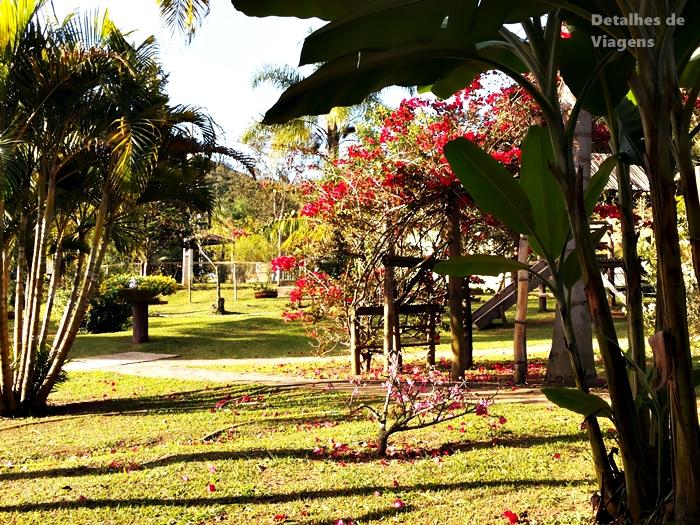 pousada e restaurante dona felicidade cunha jardim
