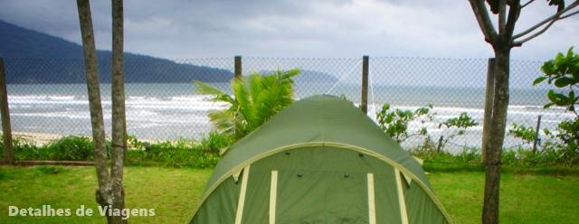 Ubatuba camping super star praia da lagoinha