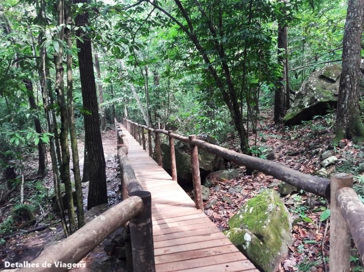 caminho para cachoeira serra azul nobres bom jardim