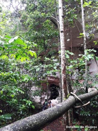 entrada caverna kiogo brado chapada dos guimaraes
