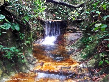 queda d'agua trilha caverna aroe jari