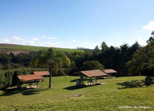 area de barracas camping mirante das aguas cachoeira do saltao itirapina