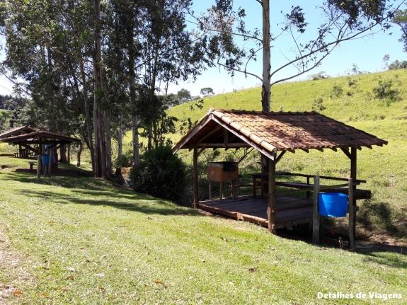 area de churrasqueiras cachoeira monjolinho itirapina