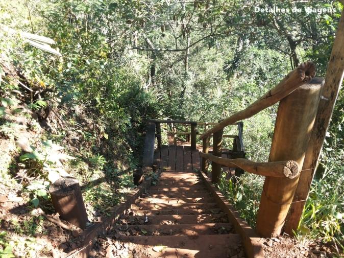 trilha cachoeira do saltao itirapina
