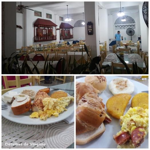 cafe da manha hotel san felipe cartagena relatos viagem roteiro