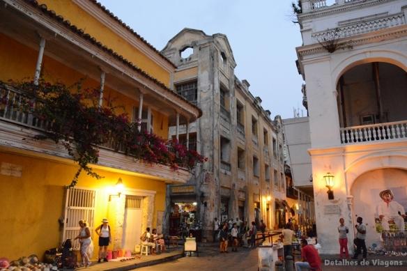 cartagena ciudad amurallada cidade murada colombia roteiro relatos viagem