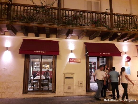 cartagena ciudad amurallada onde comer la brioche dicas restaurante