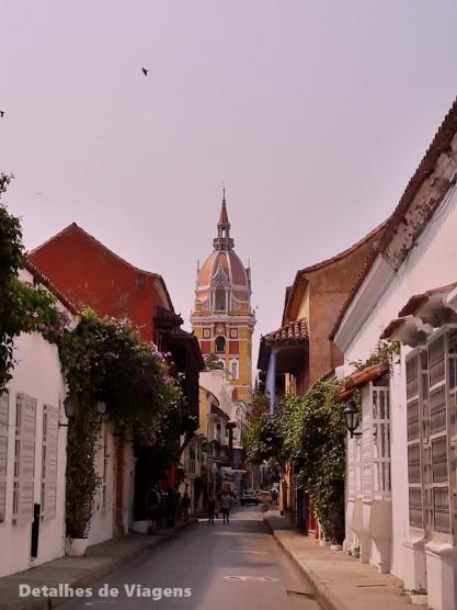 cartagena colombia ciudad amurallada cidade amuralhada roteiro