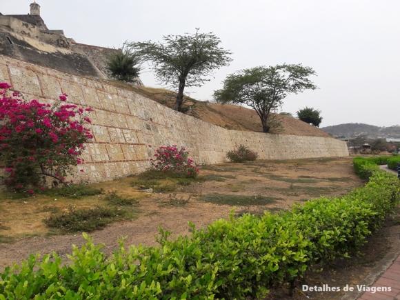 castillo san felipe de barajas cartagena arredores