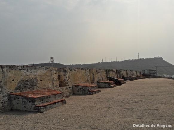 castillo san felipe de barajas cartagena canhoes