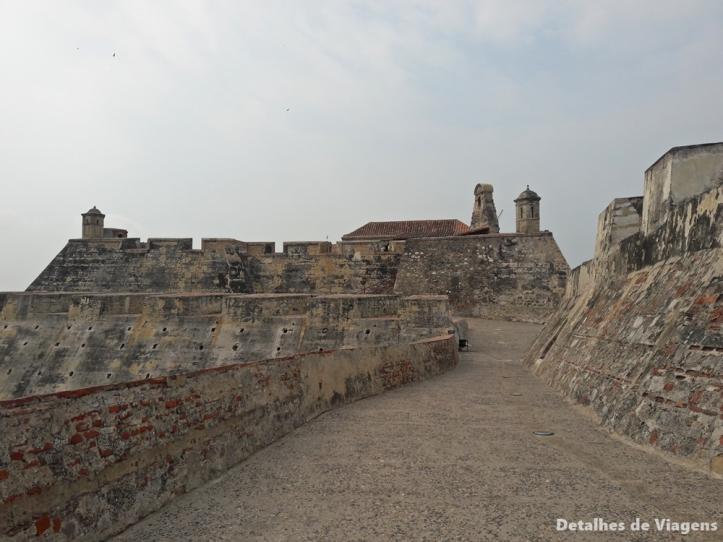 castillo san felipe de barajas cartagena detalhes viagem dicas o que conhecer passeio