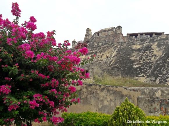 castillo san felipe de barajas cartagena parte externa