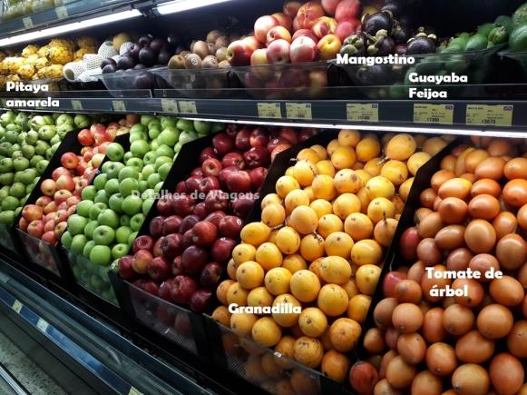 frutas tipicas cartagena supermercado dicas roteiro relatos viagem o que fazer