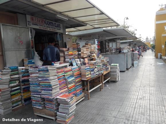 parque del centenario cartagena bancas livros usados sebo