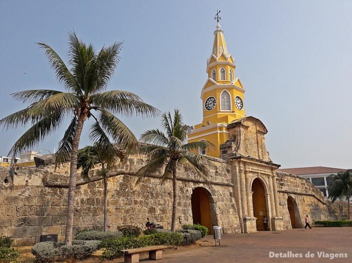 torre del reloj cartagena torre do relogio roteiro dicas de viagem relatos