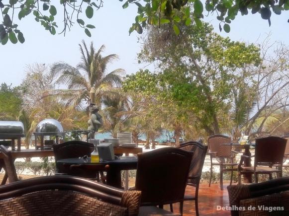 almoco ilha cartagena isla grande gente de mar resort dicas viagem roteiro