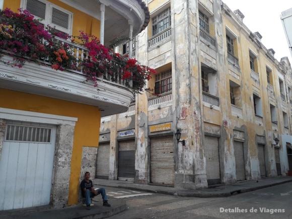 arquitetura cartagena ruas