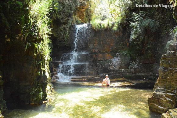 cachoeira poço dourado trilha do sol capitolio roteiro