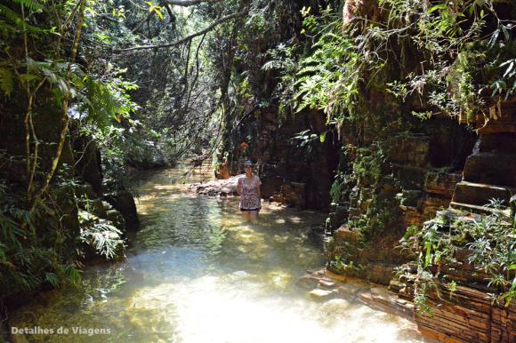 cachoeira poço dourado trilha do sol capitolio