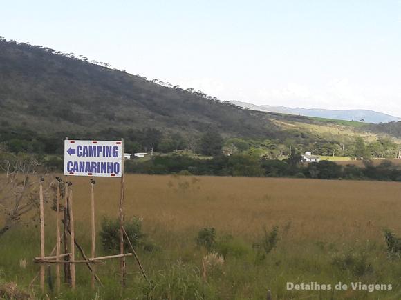 camping canarinho rodovia sinalizacao 1