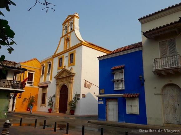 cartagena ciudad amurallada arquitetura