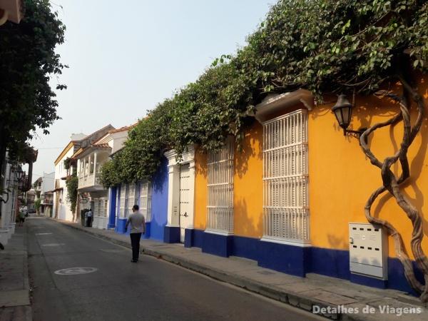 casas coloridas cartagena ruas roteiro dicas