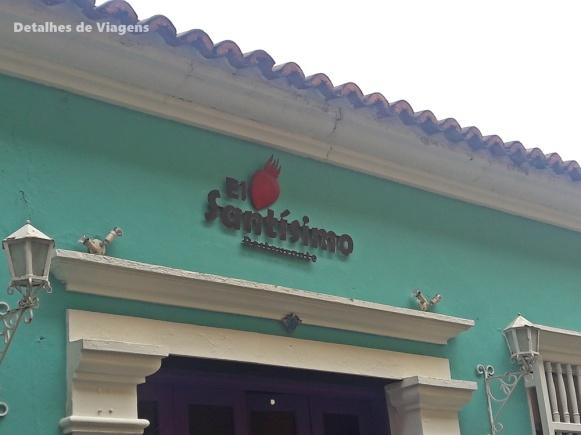 el santissimo cartagena restaurante onde comer