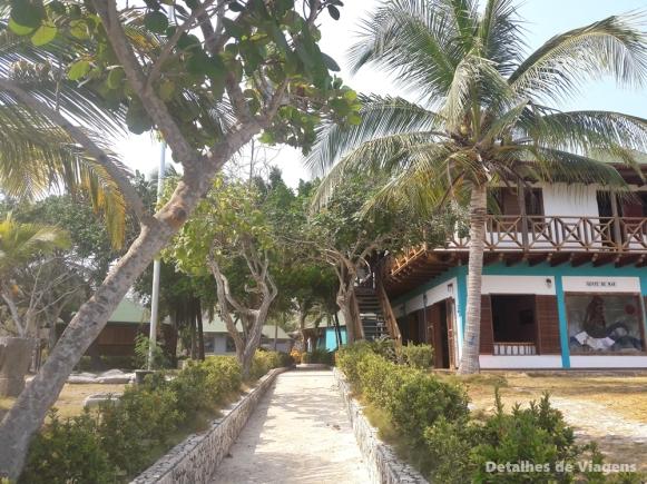 gente de mar resort cartagena isla grande praia ilha