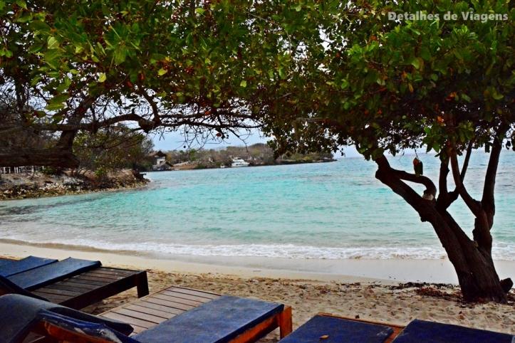 ilhas cartagena isla grande praia roteiro viagem dicas praia tranquila