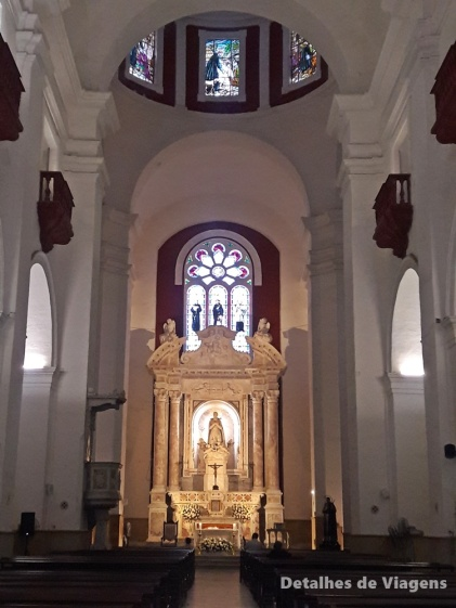 interior da igreja san pedro claver cartagena