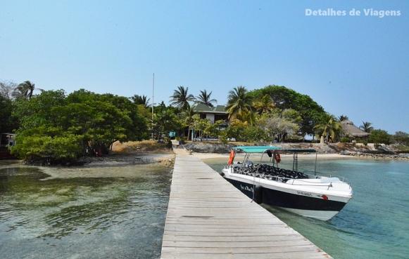 isla grande cartagena gente de mar resort roteiro viagem dicas ilhas
