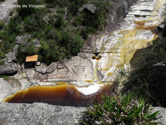 lago das miragens ibitipoca visto do alto
