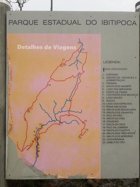mapa ibitipoca