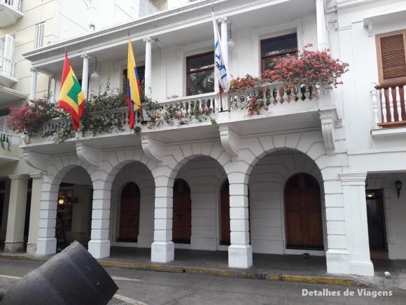 plaza de bolivar cartagena predios ao redor