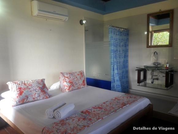 quarto suite hotel ilha cartagena isla grande gente de mar resort