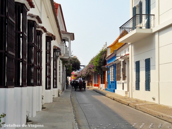 ruas cartagena centro historico cidade amuralhada
