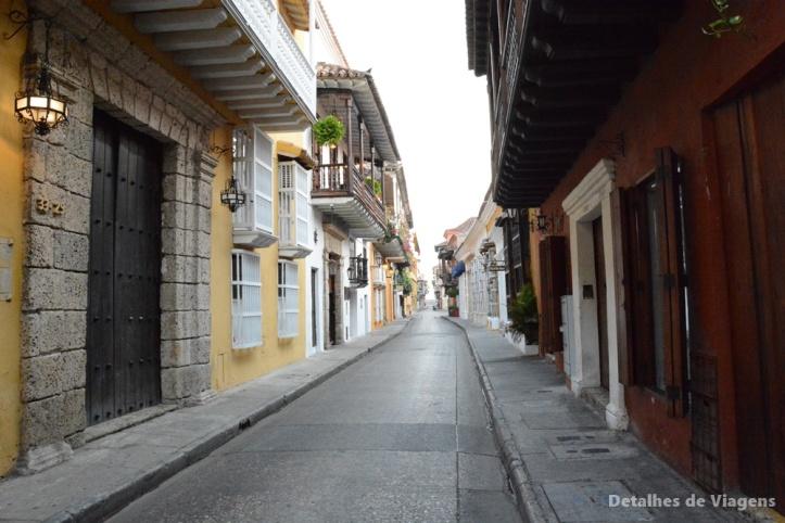 ruas cartagena ruelas cidade amuralhada