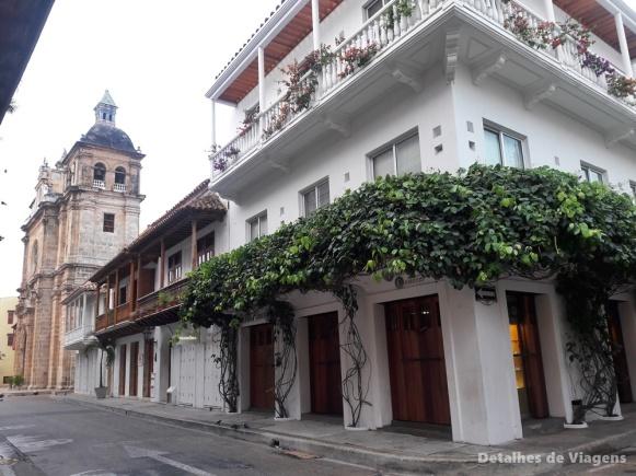 ruas cidade amuralhada cartagena