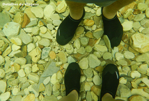 sapatilhas neoprene calcado cachoeira