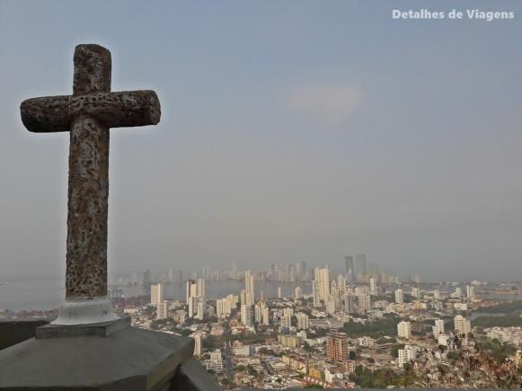 vista convento la popa o que fazer cartagena pontos turisticos