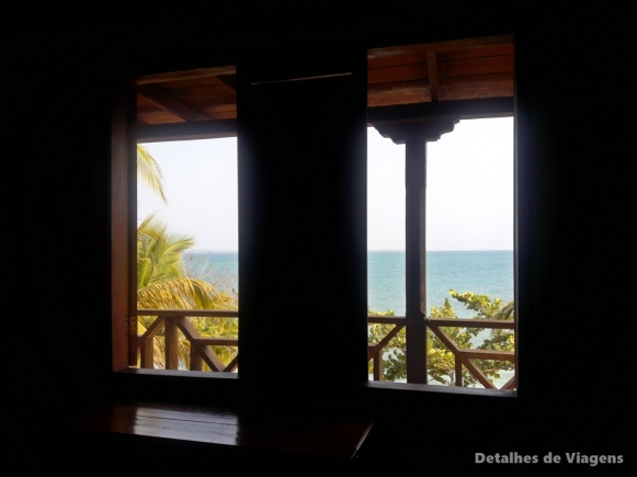 vista do quarto gente de mar resort cartagena
