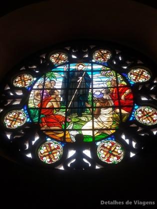 vitral igreja san pedro claver cartagena