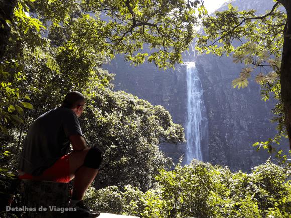 cachoeira casca danta parque nacional serra da canastra