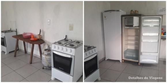 cozinha camping canarinho capitolio