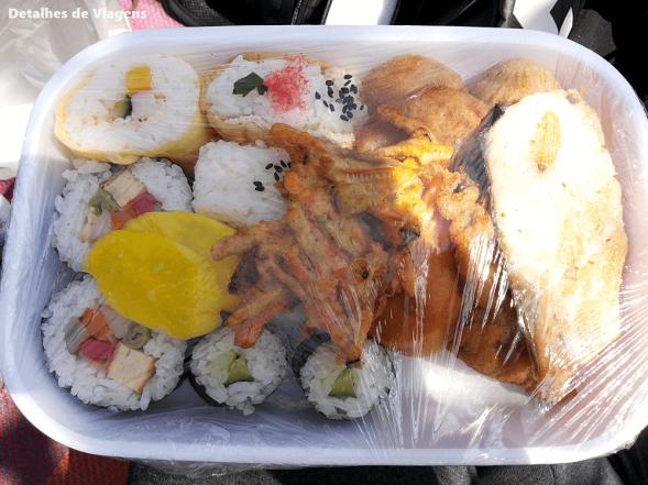 obento bento comidas tipicas japao festa cerejeiras parque do carmo