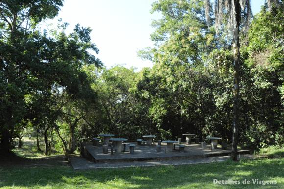 parque nacional serra da canastra area para piquenique